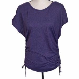 Lululemon Purple Open Back Tank Top Size 6